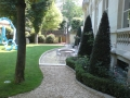 création de jardin français