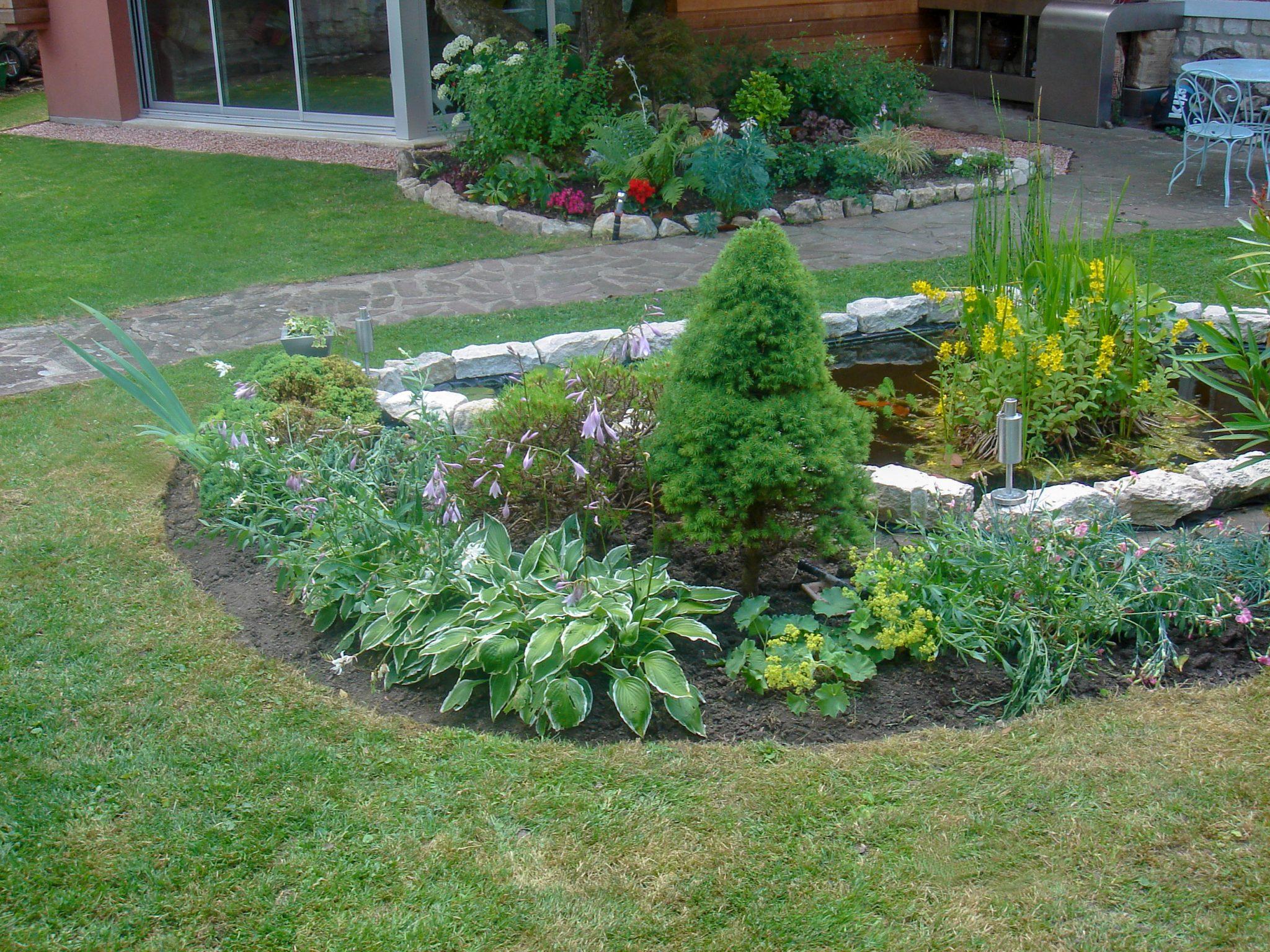 Aménagement petit jardin